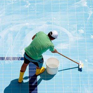 Для бассейнов и санитарных зон