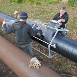 Гидроизоляция газовых и нефтяных труб